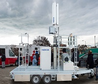 An LTE Site Deployable on a Trailer (Nokia Corporation)